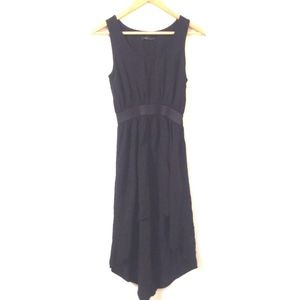 Forever 21 Dress Hi-Low Black Sleeveless Black M